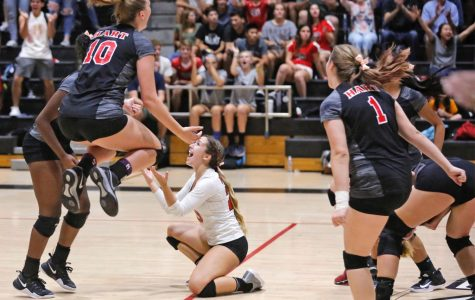 Girl's volleyball off to a competitive start