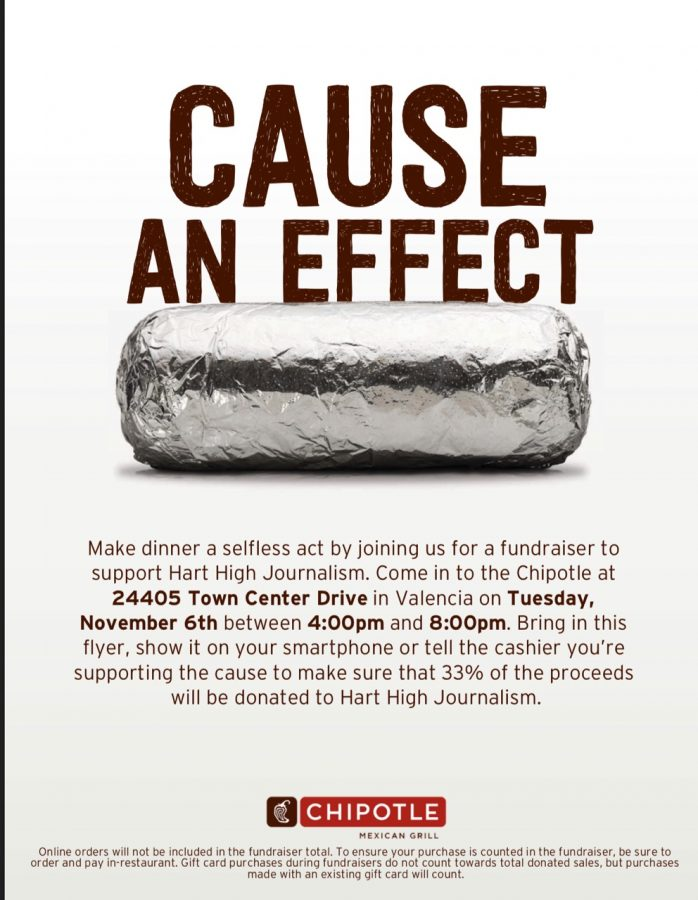 Please support The Smoke Signal at Chipotle tonight!