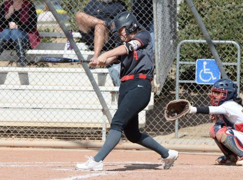 Aly Kaneshiro rounds every base for the varsity softball team during her four years at Hart.
