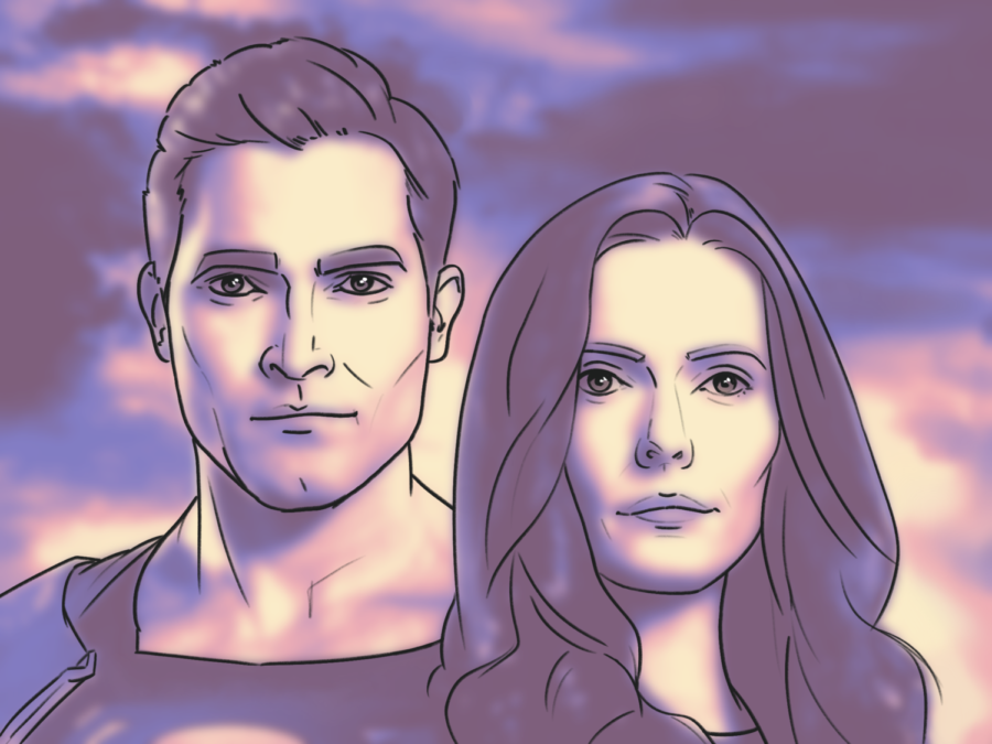 Clark Kent and Lois Lane return to television in CW's Superman and Lois. / Artwork by Kyla Jones